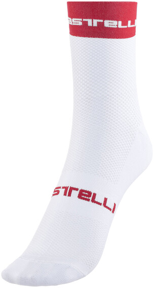 Castelli Free 9 Sokker rød/Hvit
